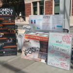 2016 Earth Week Celebration Booth
